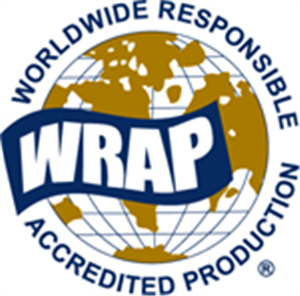 Worldwide Responsible Accredited Production (WRAP) logo
