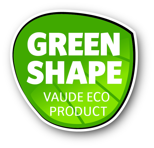 Vaude Green Shape logo