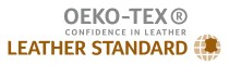 LEATHER STANDARD by OEKO-TEX® logo